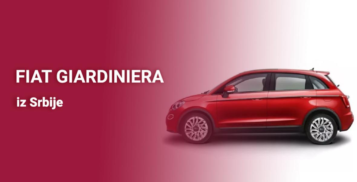 Fiat Giardiniera iz Srbije